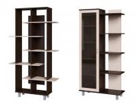 Стеллажи и библиотеки в гостиную комнату